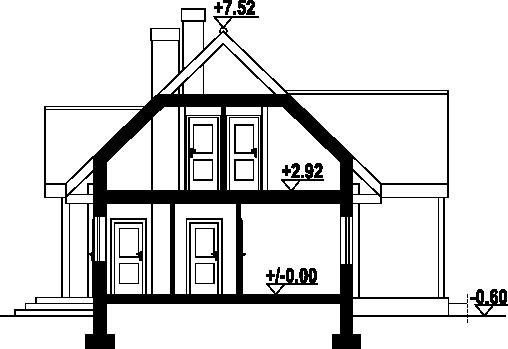 Hoczew średnia 5dw - Przekrój