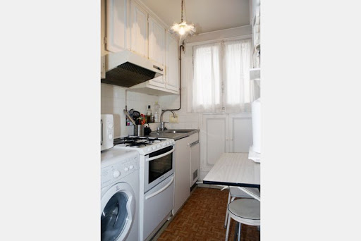 serviced apartment eiffel tower kitchen