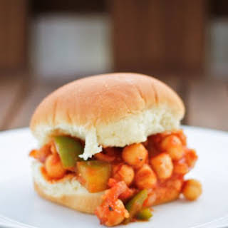 Chickpea Sloppy Joe.