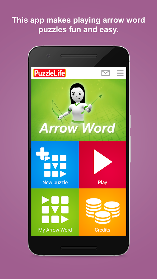 arrowword puzzlelife screenshot