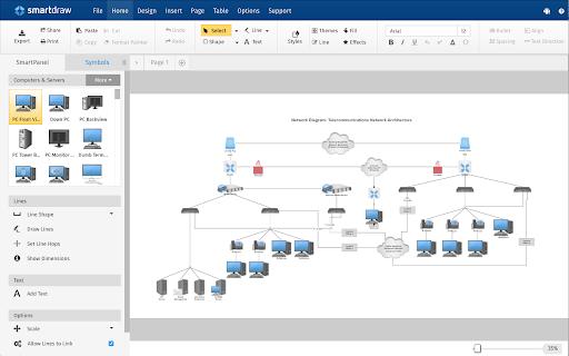 smartdraw diagrams g suite marketplace - Smartdraw For Windows
