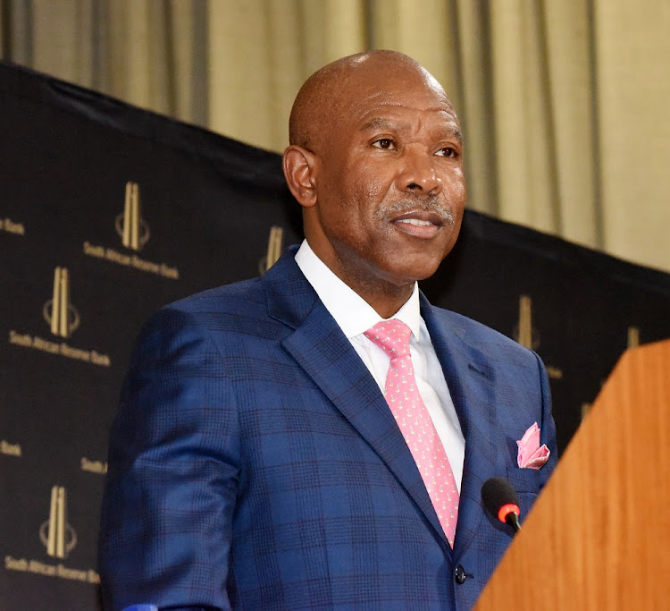 Reserve Bank governor Lesetja Kganyago at the central bank's head offices in Pretoria, March 28 2018. Picture: BUSINESS DAY