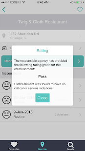 FoodSpect - Restaurant Inspections- screenshot thumbnail