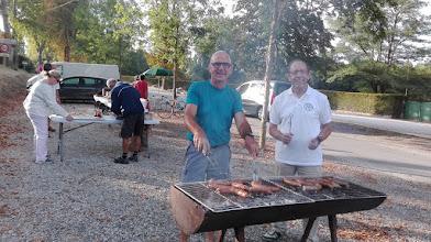 Photo: Préparation des grillades