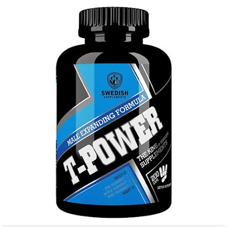 Swedish Supplements T-Power 200 caps