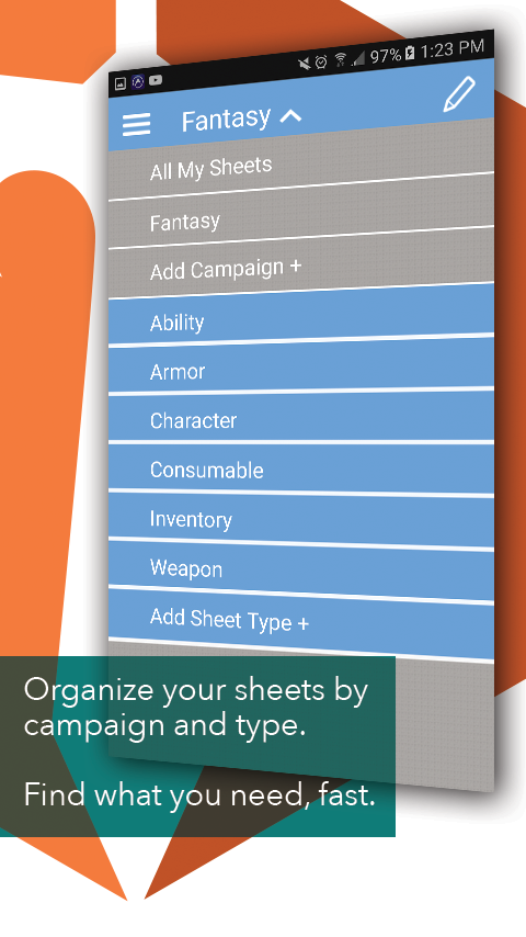 Sheet Yourself for RPG- screenshot