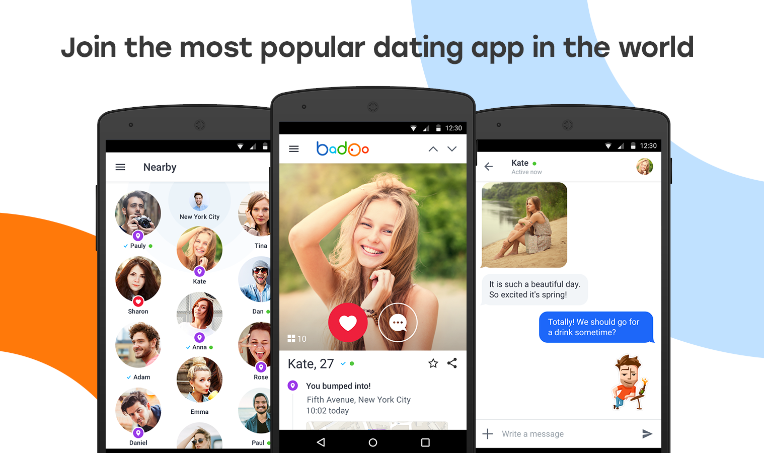badoo dating site contact