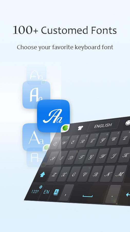 GO Keyboard Lite + Emoji- screenshot