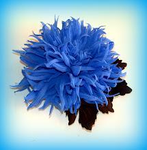 Photo: Цветы из ткани. Хризантема. Автор Татьяна-63