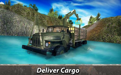 ud83cuddf7ud83cuddfaud83dude9bRussian Truck 6x6: Offroad Driving Simulator android2mod screenshots 3