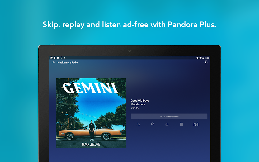 Screenshot 13 for Pandora's Android app'