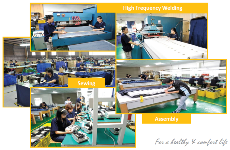 Medical Air Mattress Assembly Line