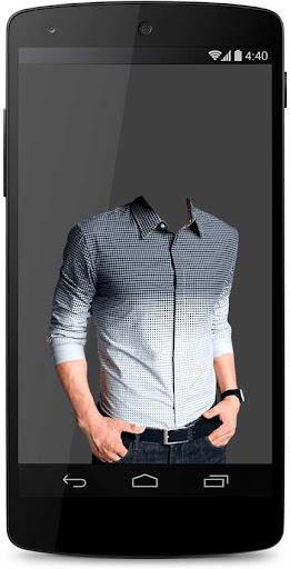 Man Shirt Photo Camera