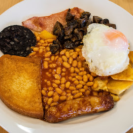 English Breakfast. by Simon Page - Food & Drink Plated Food