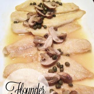 Flounder Piccata