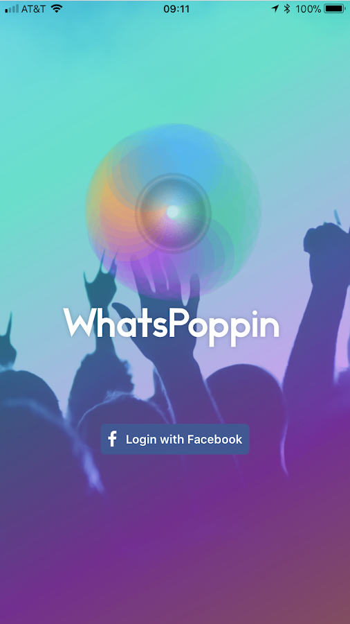 WhatsPoppin- screenshot