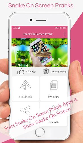 Download Snake On Screen Prank APK latest version app by
