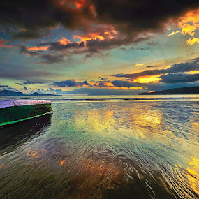 SIMPLE BOAT by Jasen Tan - Landscapes Beaches