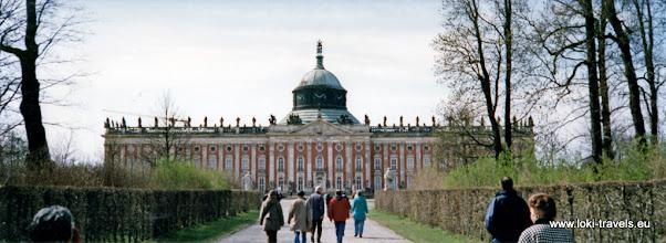 Photo: Potsdam. Sanssouci. Neues Palais.