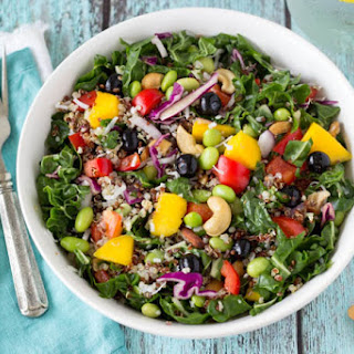 Superfood Salad with Creamy Cashew Dressing