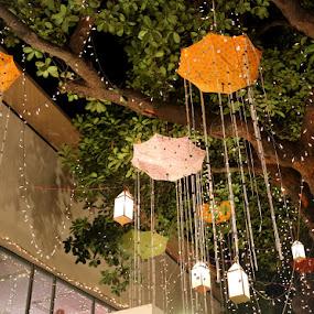 Umbrellas by Kaniz Khan - Abstract Patterns (  )