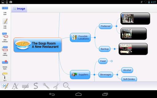 Mindjet for Android screenshot 7