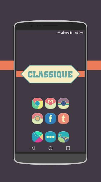 Classique Icon Pack Theme v4.1.6