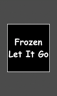 piano dlaždice - Frozen Let It - náhled