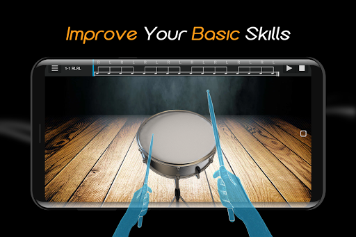 Easy Real Drums-Real Rock and jazz Drum music game apkmind screenshots 2