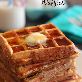 French Toast Waffles.