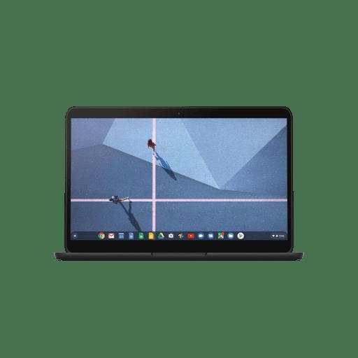 Front-facing shot of Pixelbook Go