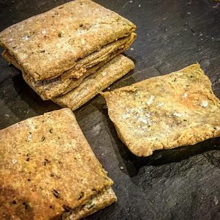 Rosemary and Sea Salt Buckwheat Crackers Recipe