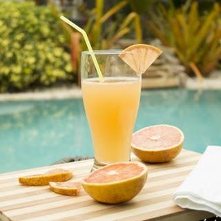 Grapefruit Radler Beer Cocktail.