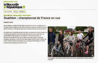 Photo: 2014-06-04 NR Duathlon _ championnat de France en vue