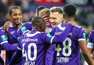 Des joueurs d'Anderlecht s'opposent à la réduction des salaires