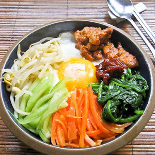 Bibimbap 비빔밥 (Korean Mixed Rice)