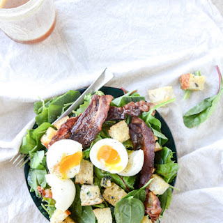 Baby Kale Breakfast Salad