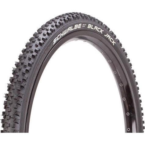 "Schwalbe Black Jack Wire Bead Tire, 24 x 1.9"""