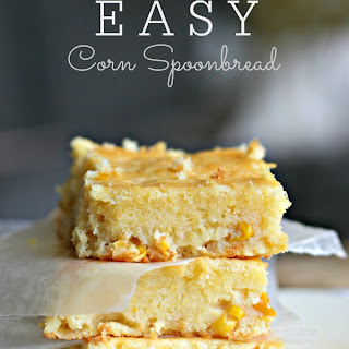 Easy Corn Spoonbread