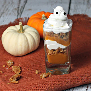 Ghostly Pumpkin Parfait.