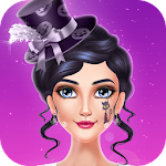 Hunted Halloween Girl Party Icon