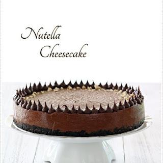 Easy Nutella Cheesecake Recipe