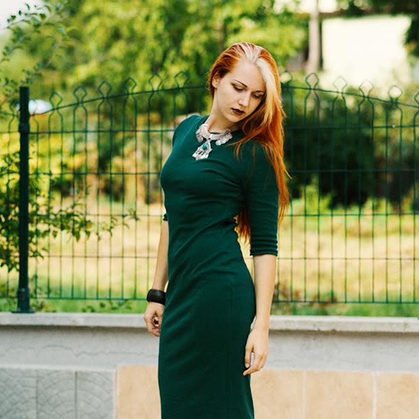 OOTD Antonia: Green Queen