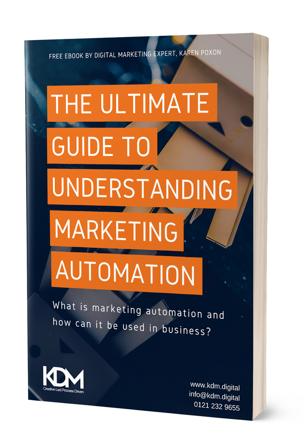 Free marketing automation ebook _ KDM Digital marketing consultancy