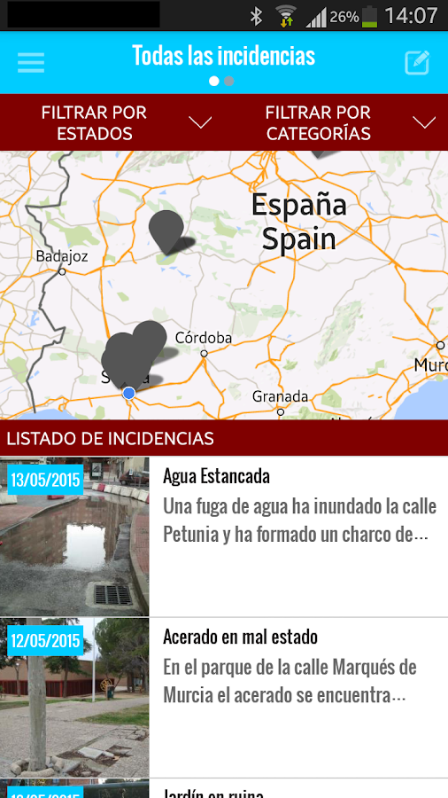 Cuida tu municipio- screenshot