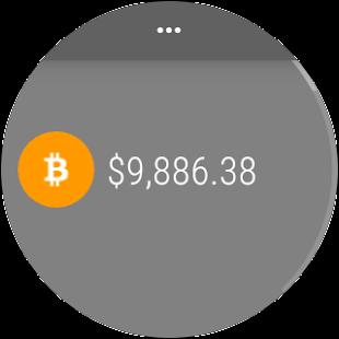 Coinbase Tracker - náhled