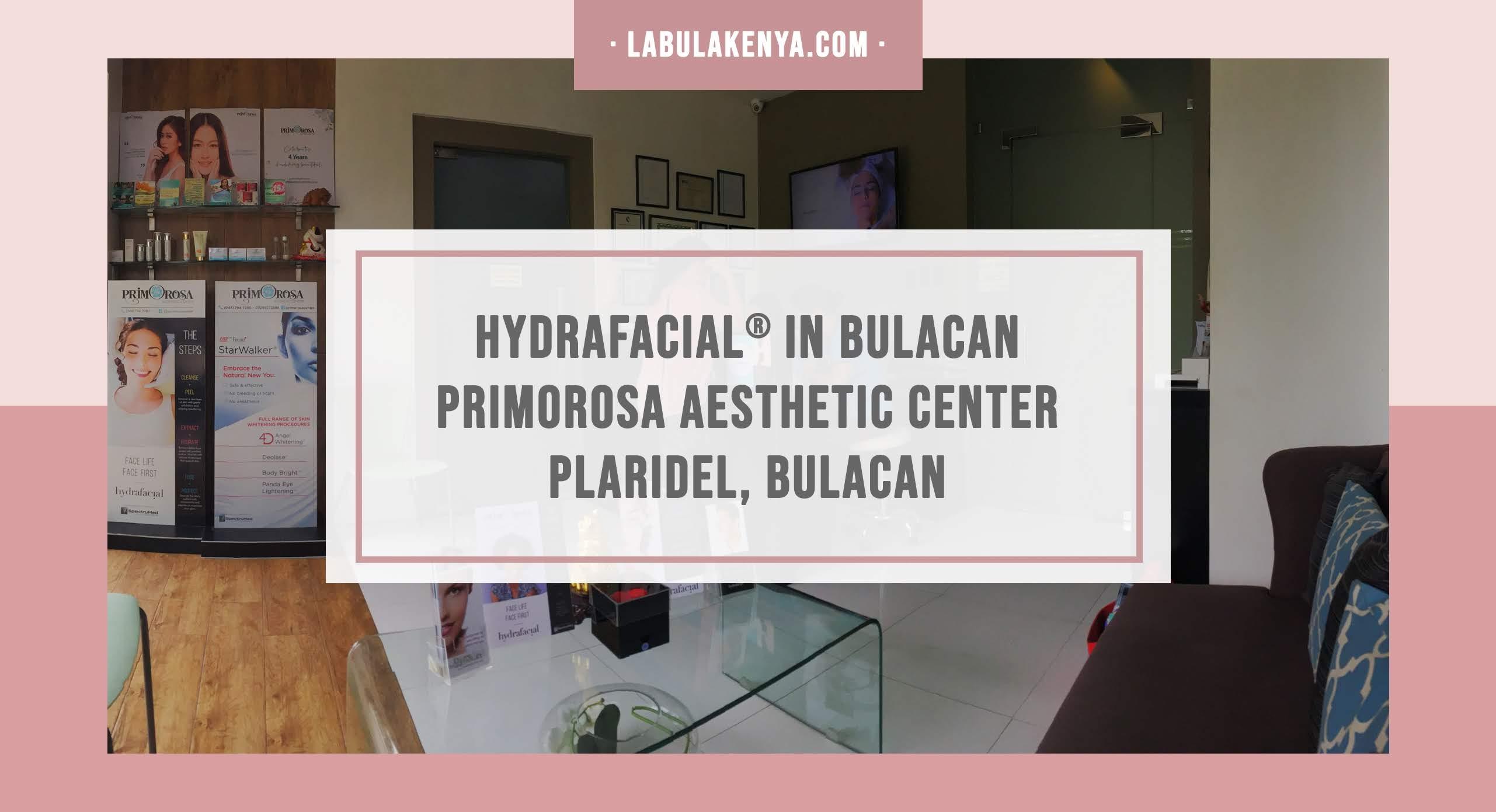 Hydrafacial Bulacan
