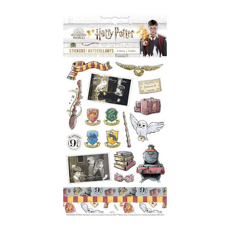 Paper House Harry Potter Stickers 4/Pkg - Classic