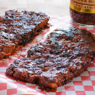 Vegan Barbecue Ribs.