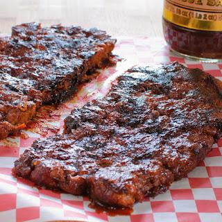 Vegan Barbecue Ribs.